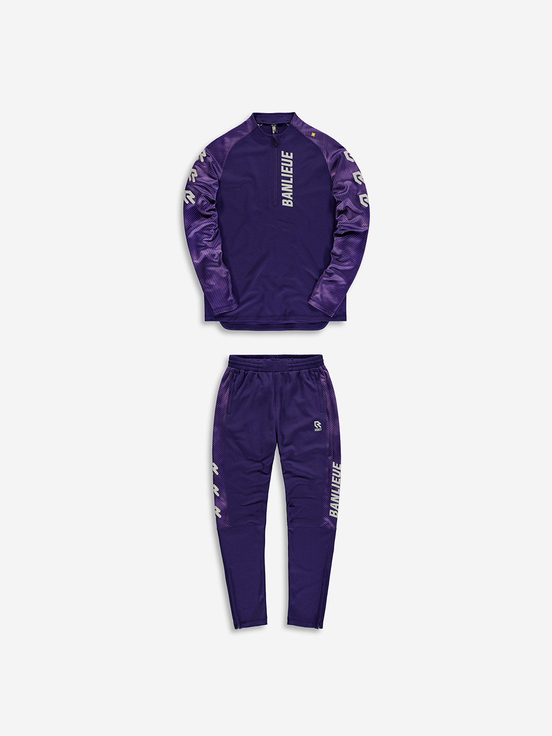 BANLIEUE X ROBEY TRACKSUIT PURPLE