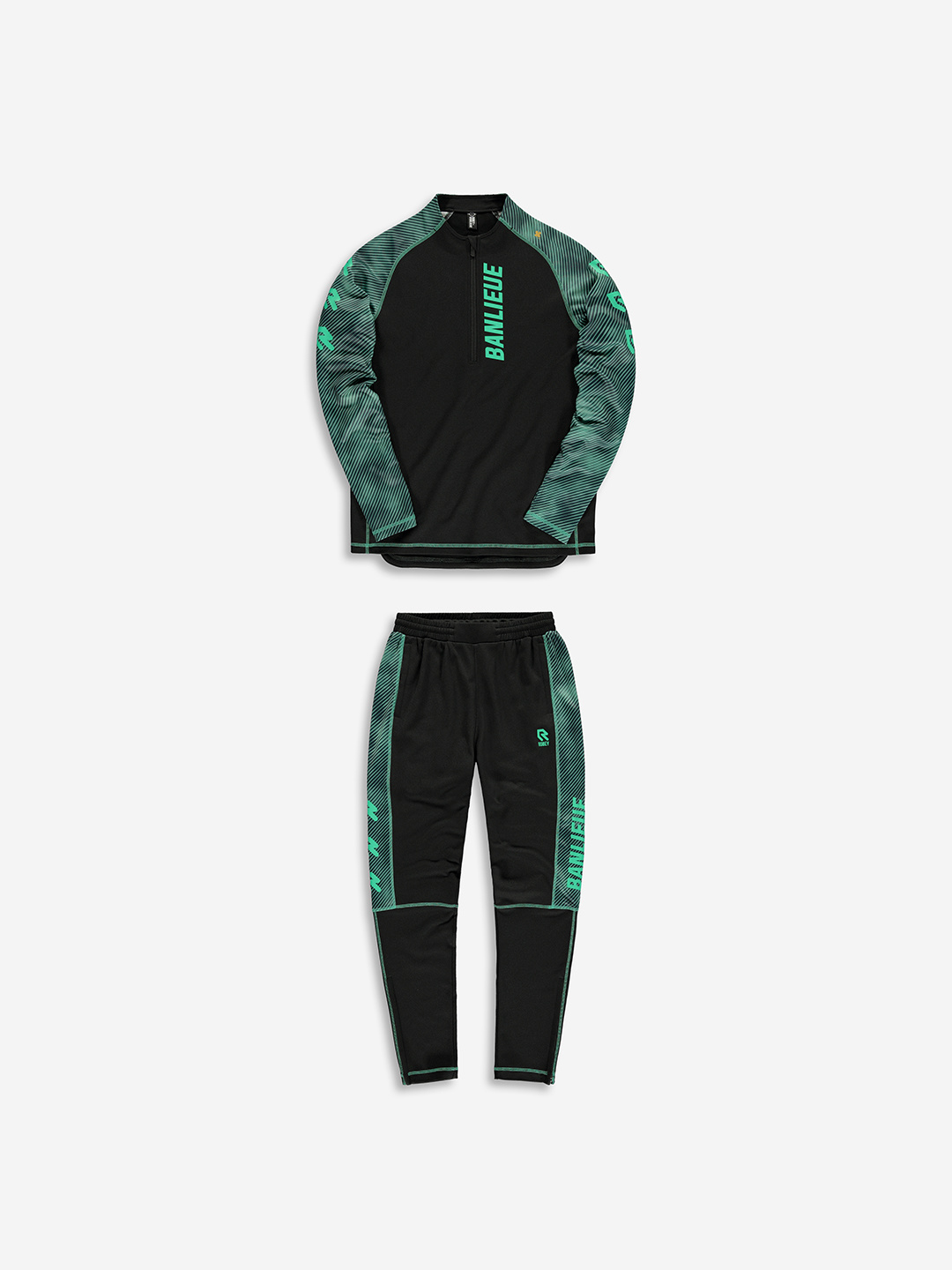 BANLIEUE X ROBEY TRACKSUIT BLACK/FOREST