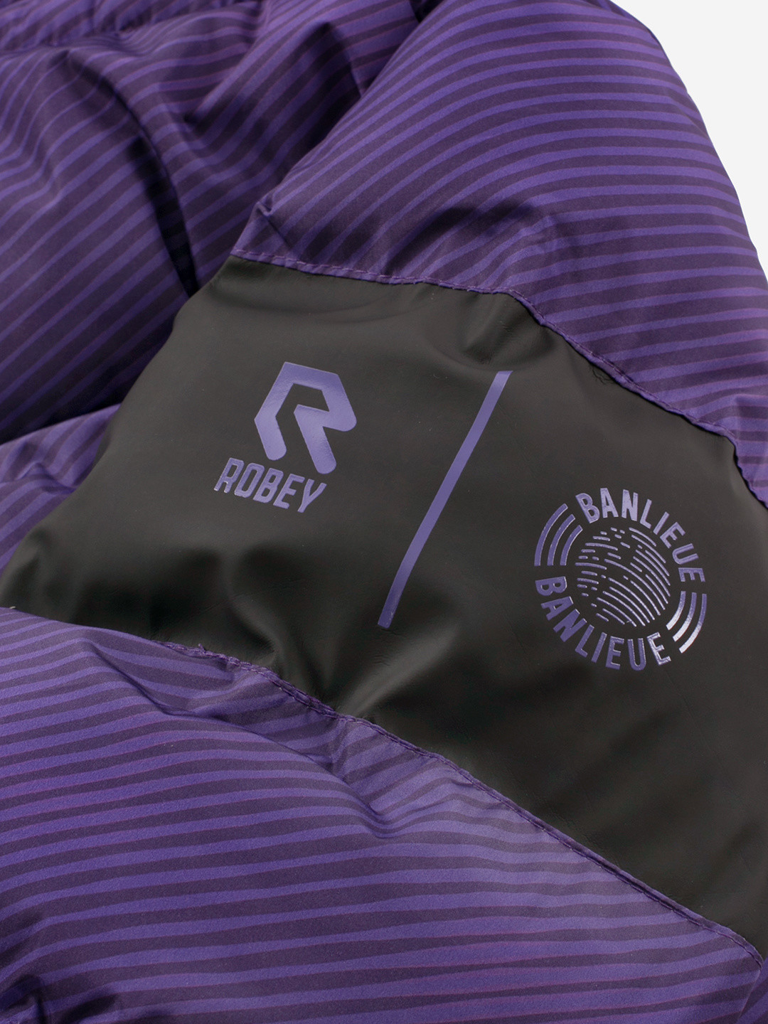 BANLIEUE X ROBEY PUFFER JACKET VIOLET