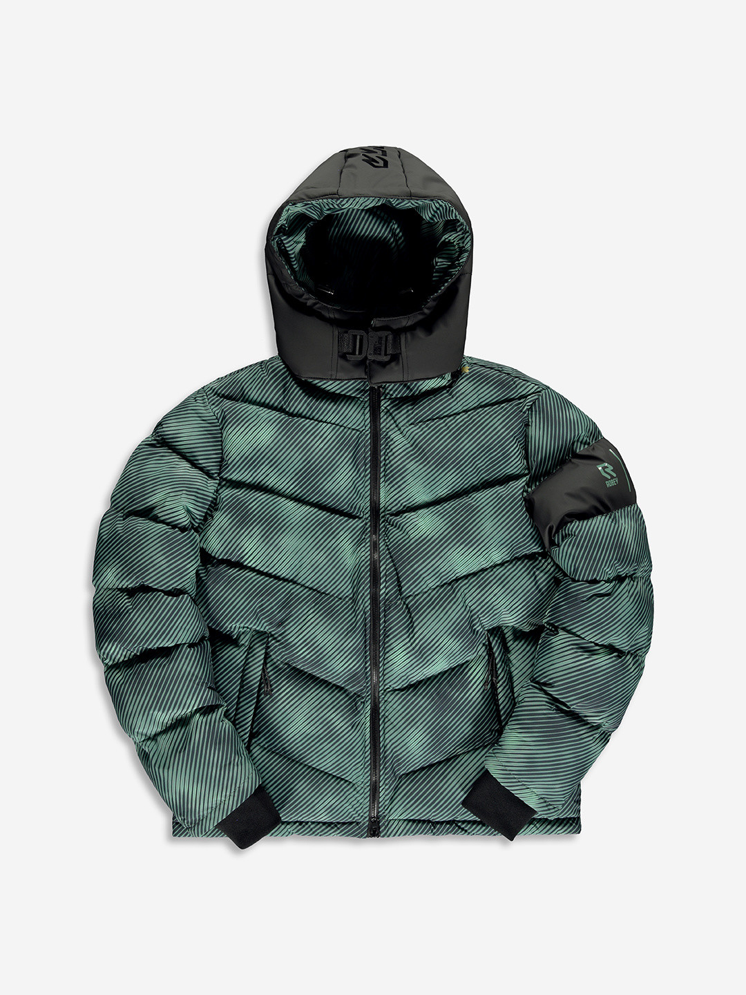 BANLIEUE X ROBEY PUFFER JACKET FORÊT