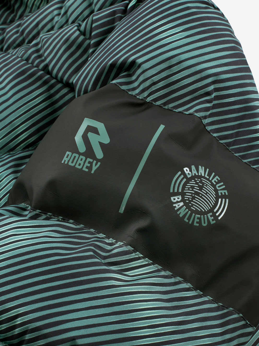 BANLIEUE X ROBEY PUFFER JACKET FOREST