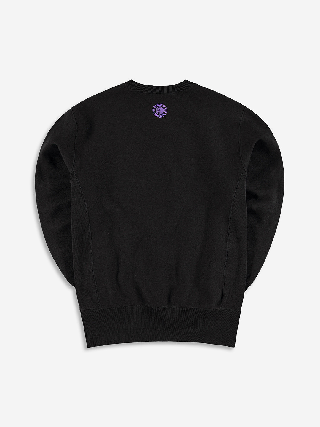 BANLIEUE X CHAMPION SWEATER BLACK
