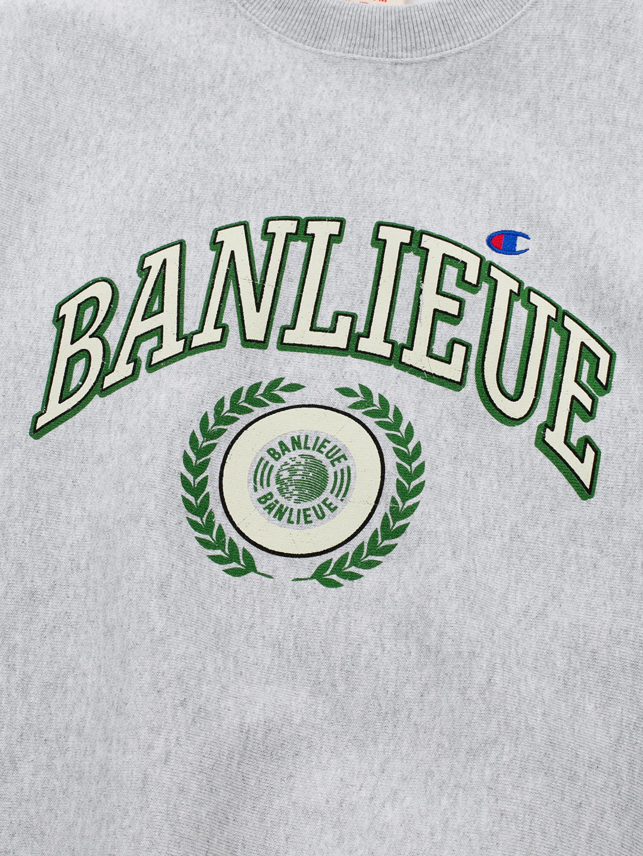 BANLIEUE X CHAMPION SWEATER GRIS