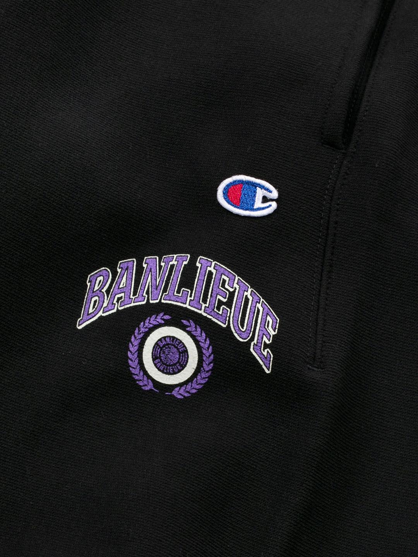 BANLIEUE X CHAMPION SWEATPANTS BLACK