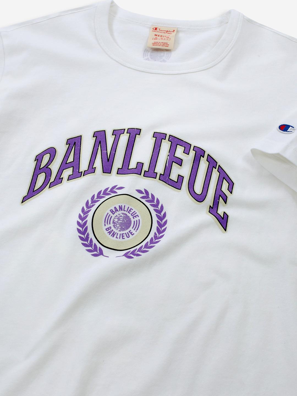 BANLIEUE X CHAMPION T-SHIRT WHITE