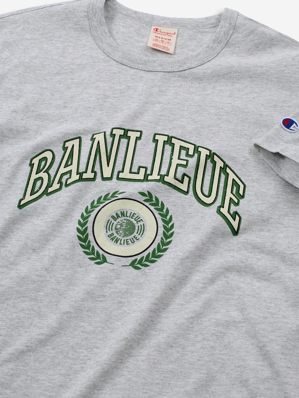 BANLIEUE X CHAMPION T-SHIRT GREY