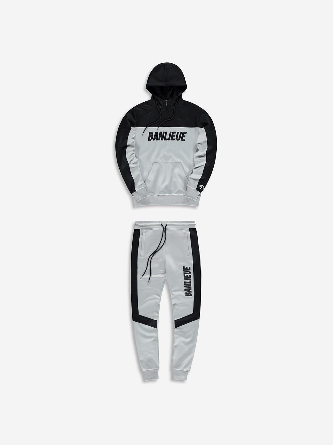 3D TRACKSUIT GREY/BLACK