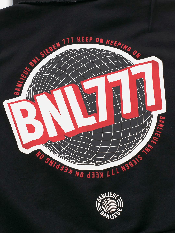 BNL777 HOODIE BLACK