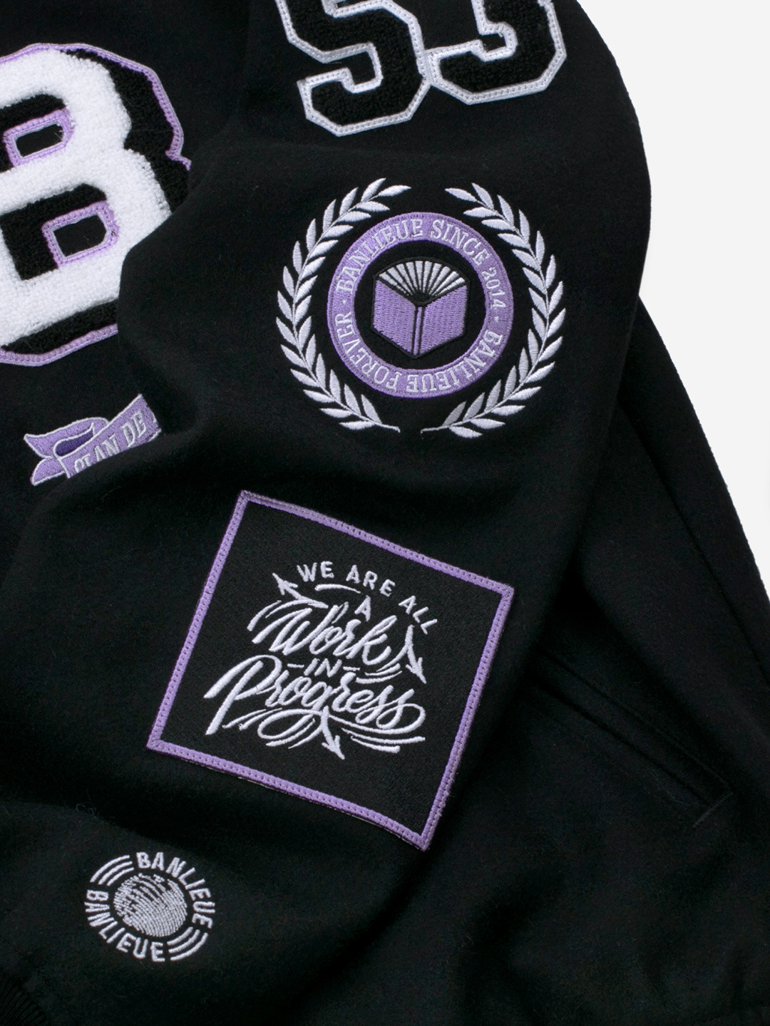 PPF WOOL VARSITY JACKET