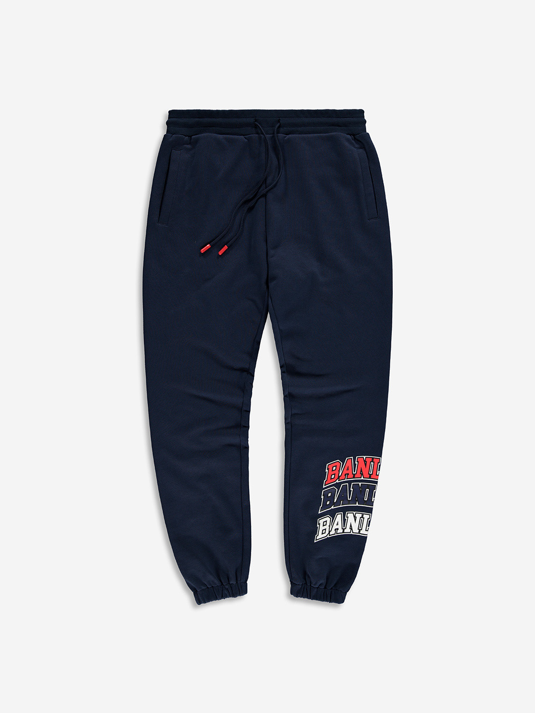 COLLEGE SWEATPANTS NAVY/RED