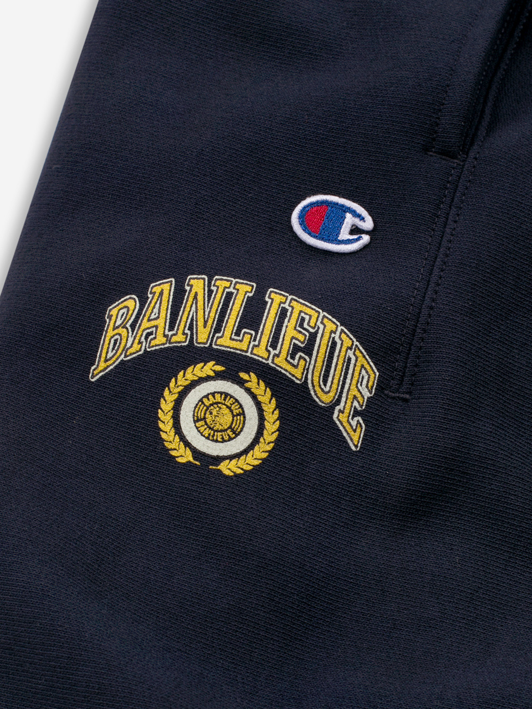 BANLIEUE X CHAMPION SWEATPANTS MARINE