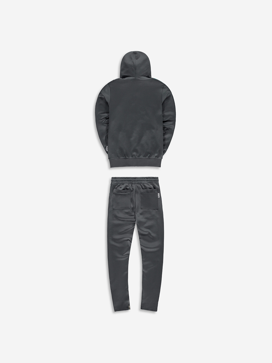 FULL ZIP TRACKSUIT GRIS/TURQUOISE