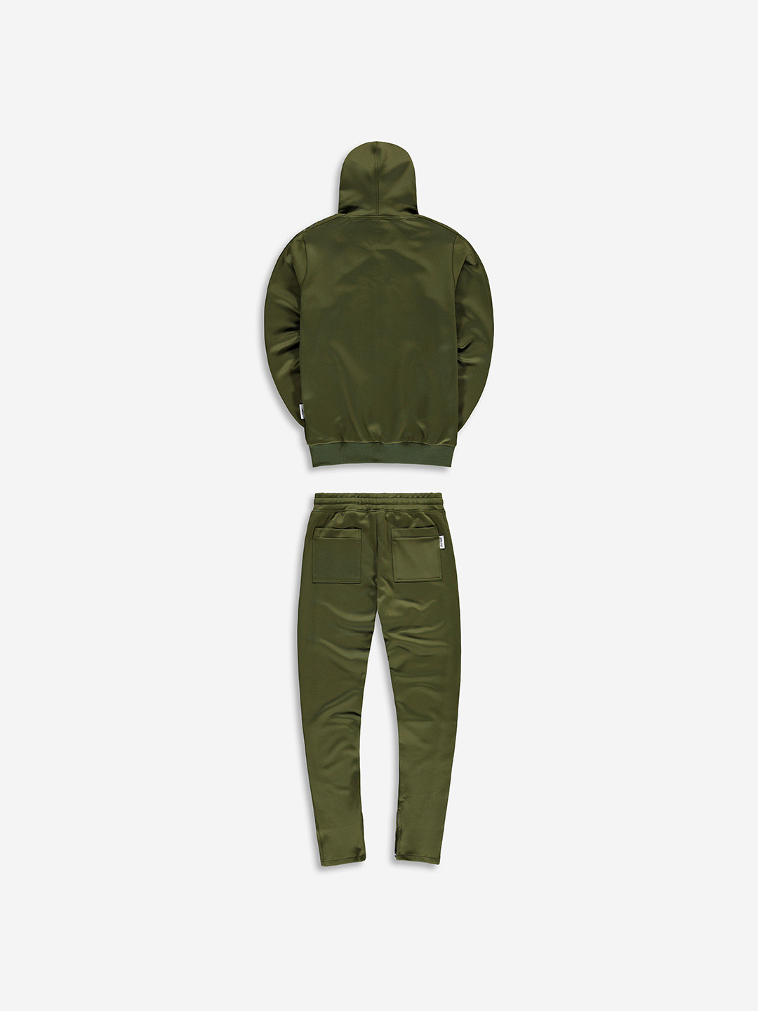 FULL ZIP TRACKSUIT KHAKI/BLACK