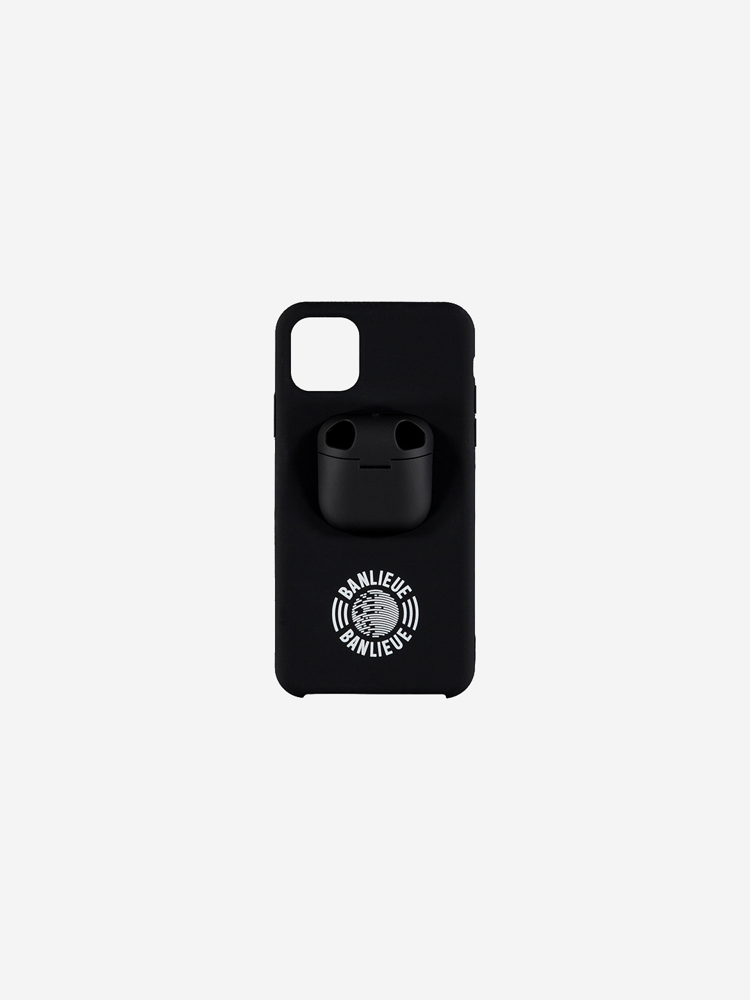 IPHONE AIRPOD CASE BLACK