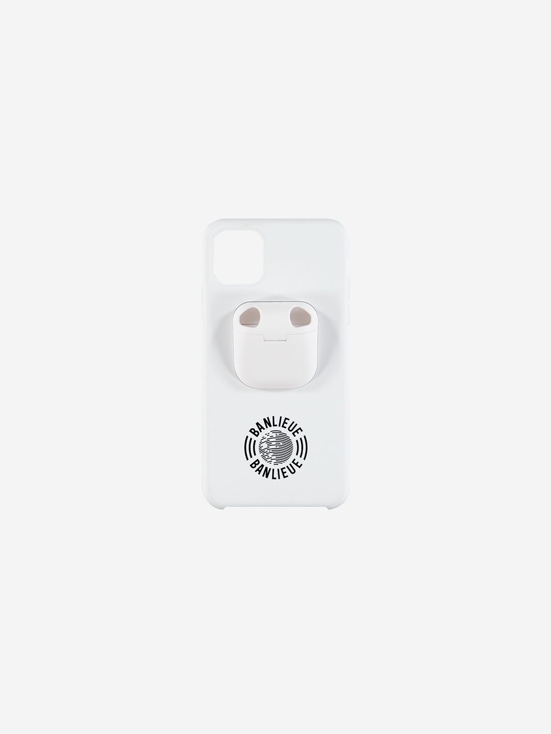IPHONE AIRPOD CASE WHITE