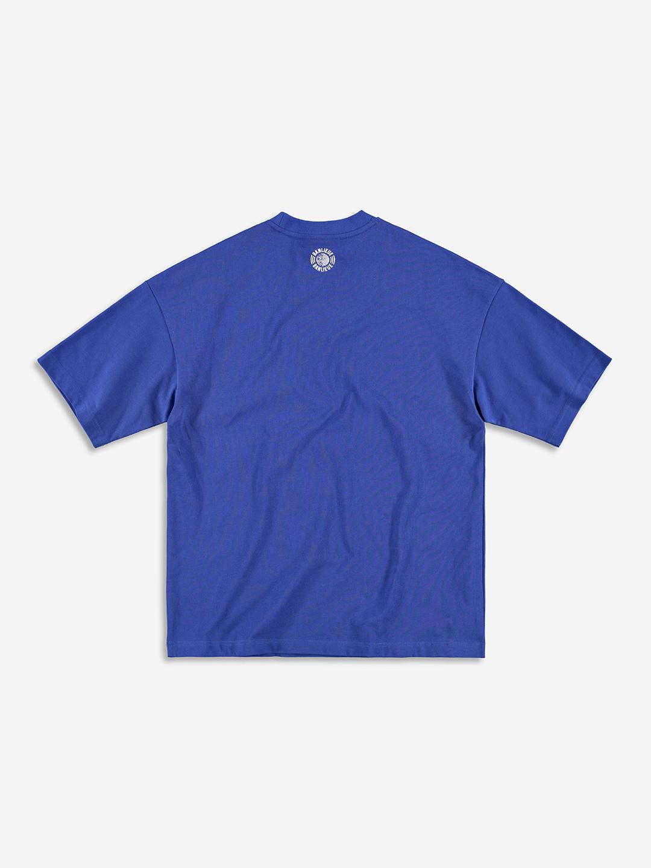 CREST LOGO T-SHIRT ROYAL BLUE