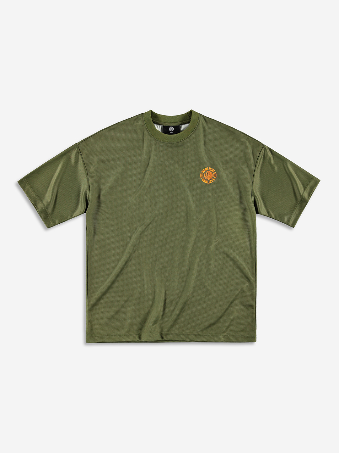 GLOBAL MESH T-SHIRT KHAKI