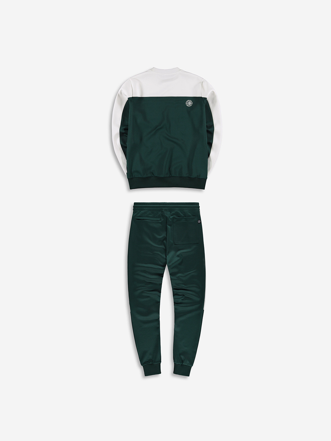 3D CREW TRACKSUIT FOREST/WHITE