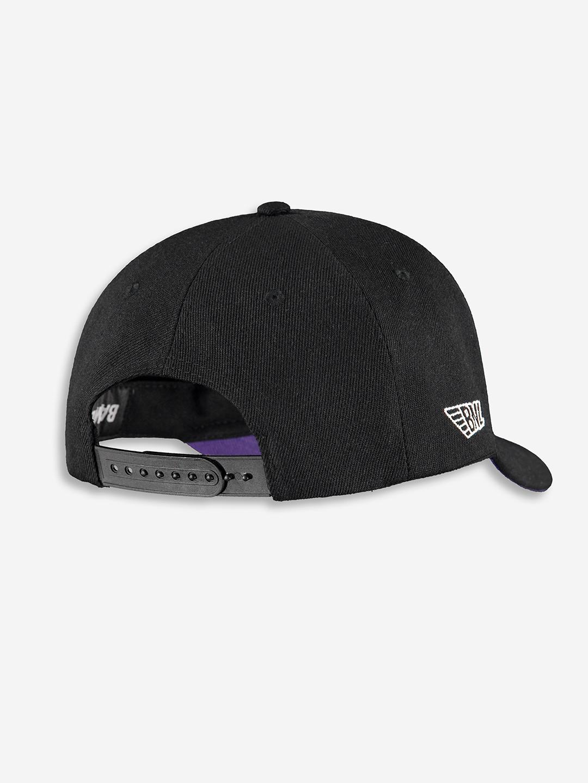 CHAMPION CAP NOIR/VIOLET