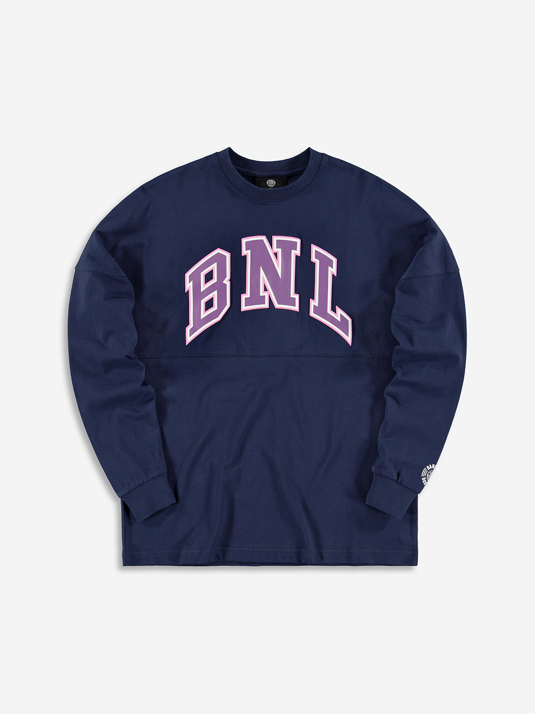 COLLEGE GRAPHIC LONGSLEEVE MARINE