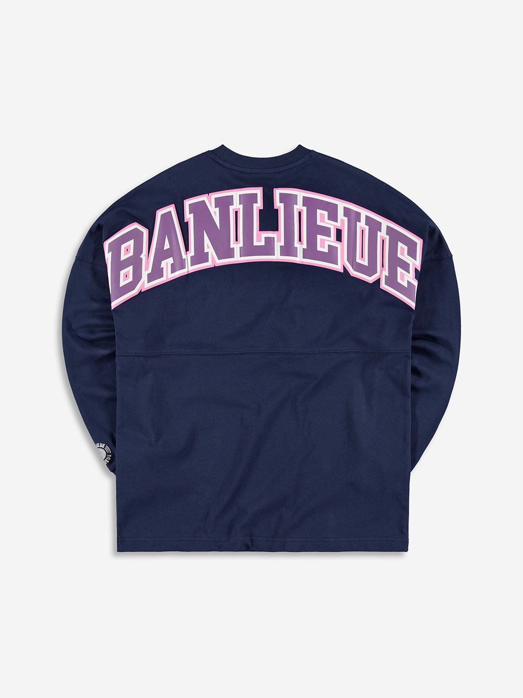 COLLEGE GRAPHIC LONGSLEEVE NAVY