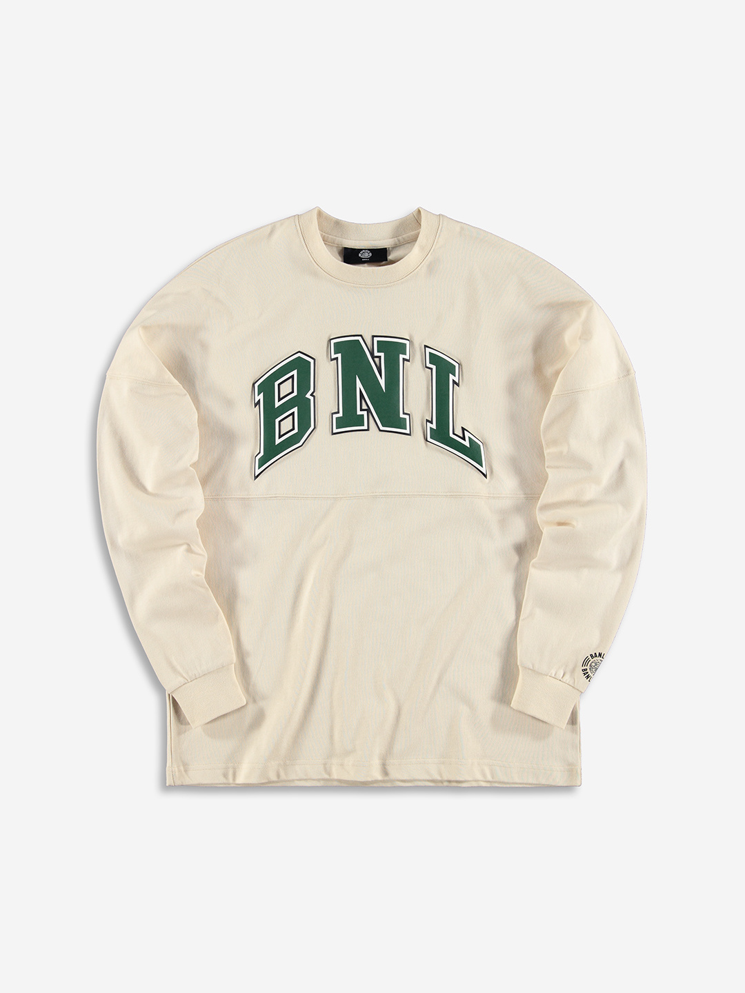 COLLEGE GRAPHIC LONGSLEEVE CREAM WHITE