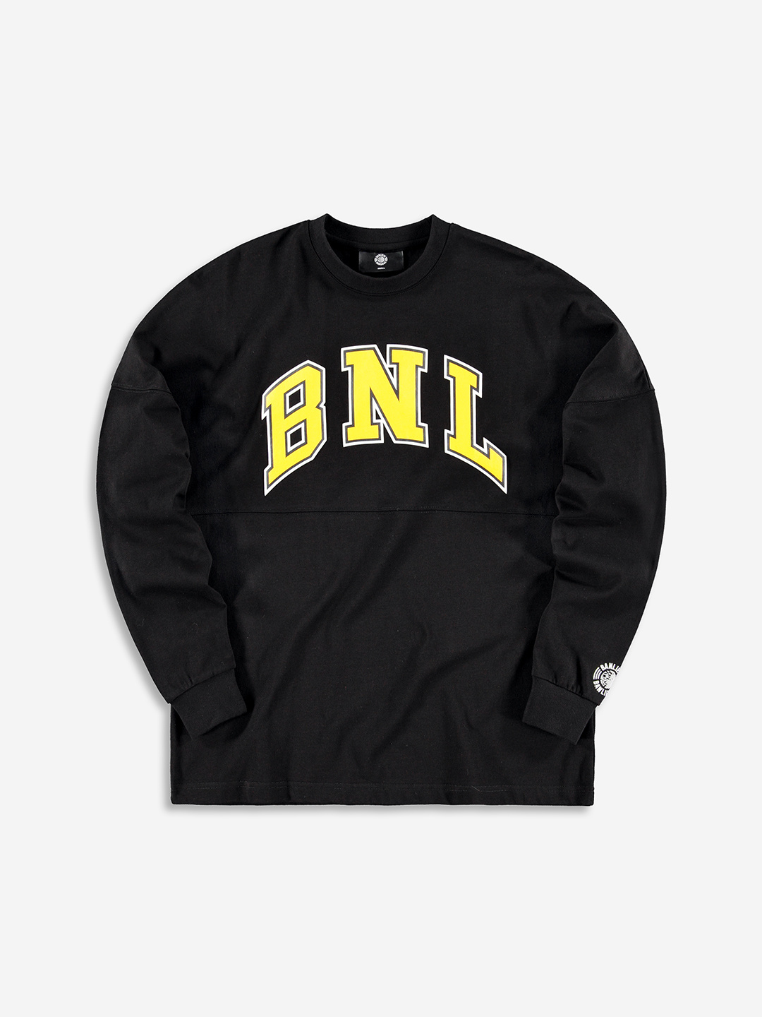 COLLEGE GRAPHIC LONGSLEEVE BLACK