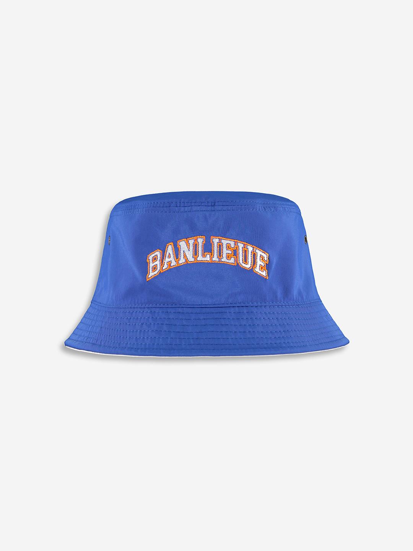 REVERSIBLE DREAM TEAM BUCKET HAT ROYAL BLUE