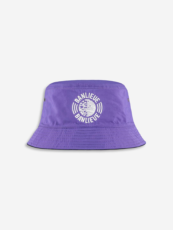 REVERSIBLE DREAM TEAM BUCKET HAT NOIR