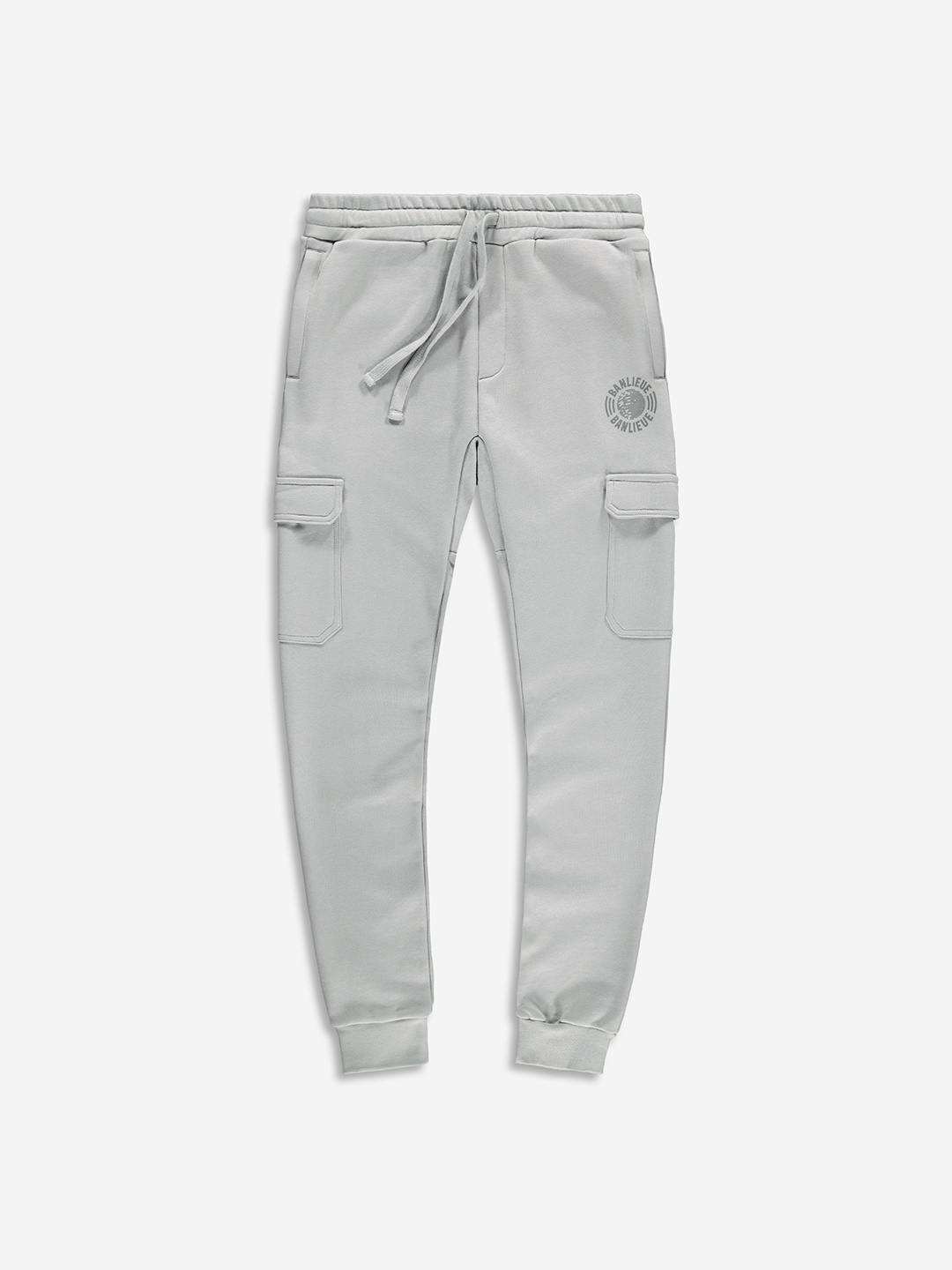 TONAL CARGO SWEATPANTS GREY