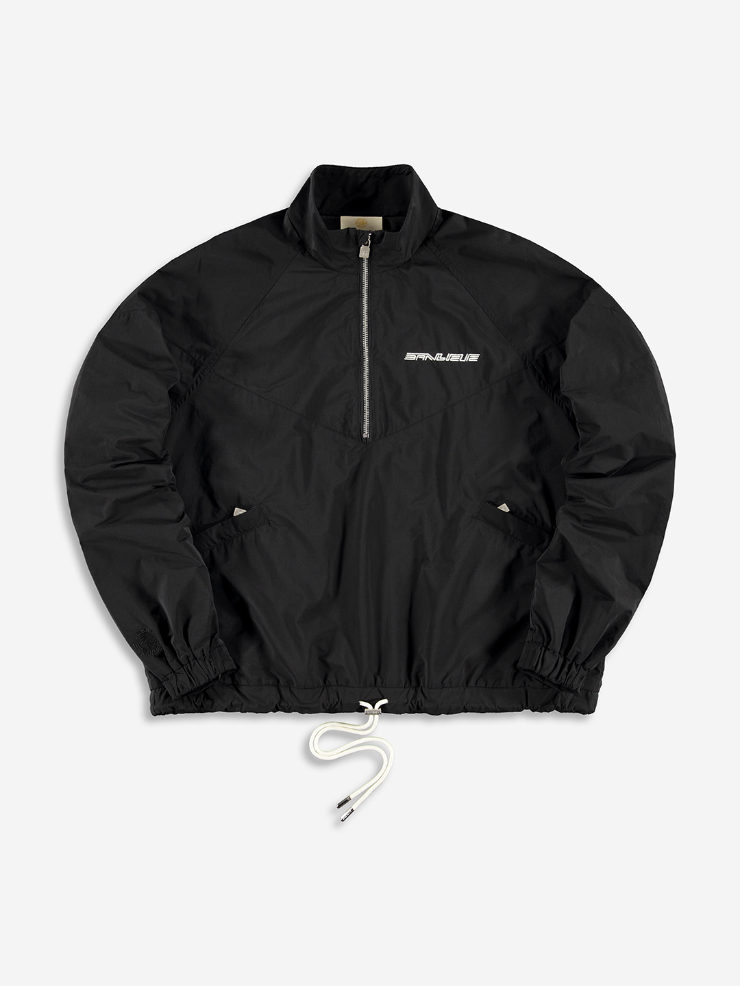 WARMING UP ANORAK BLACK