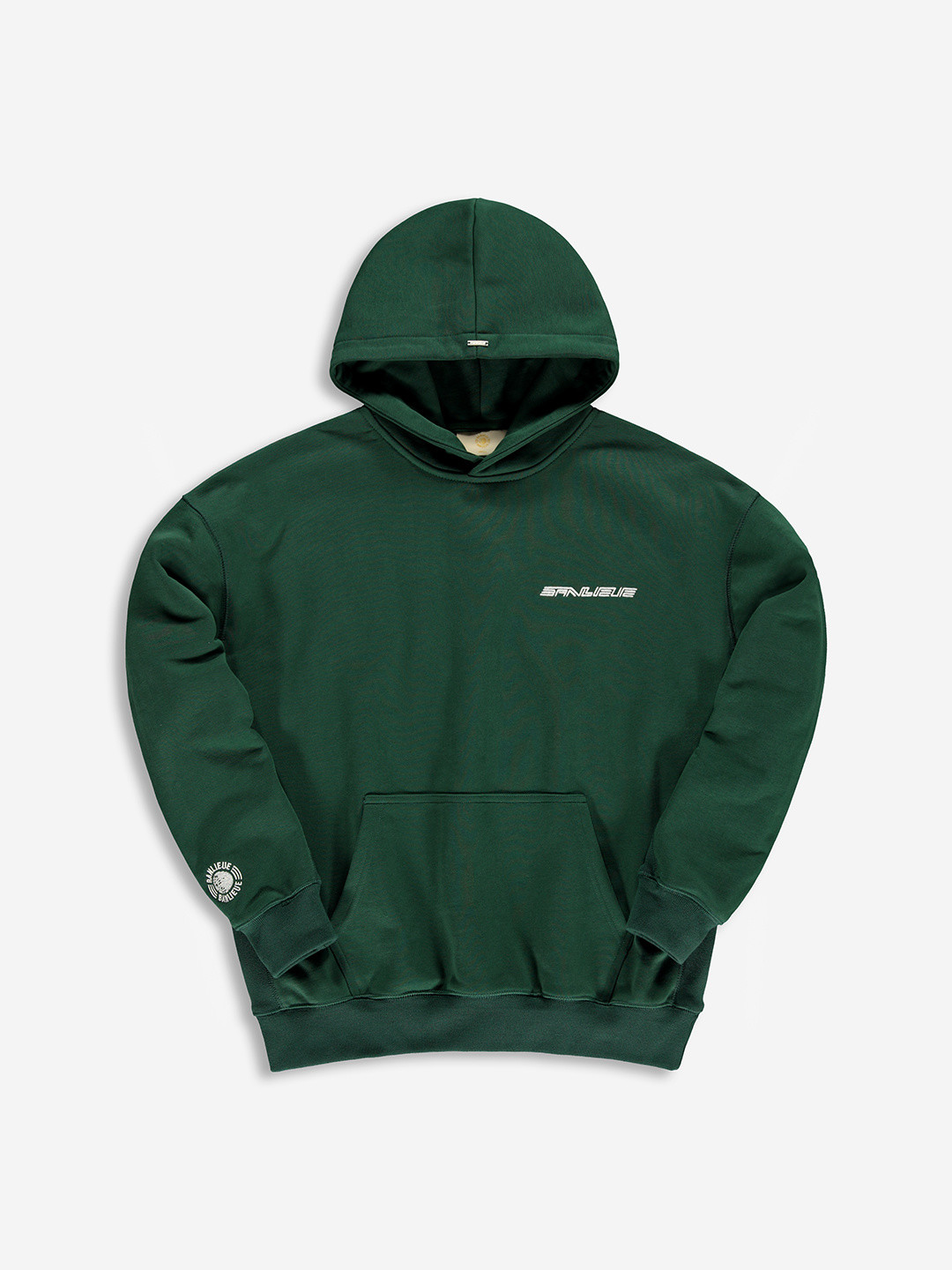 WARMING UP HOODIE FOREST