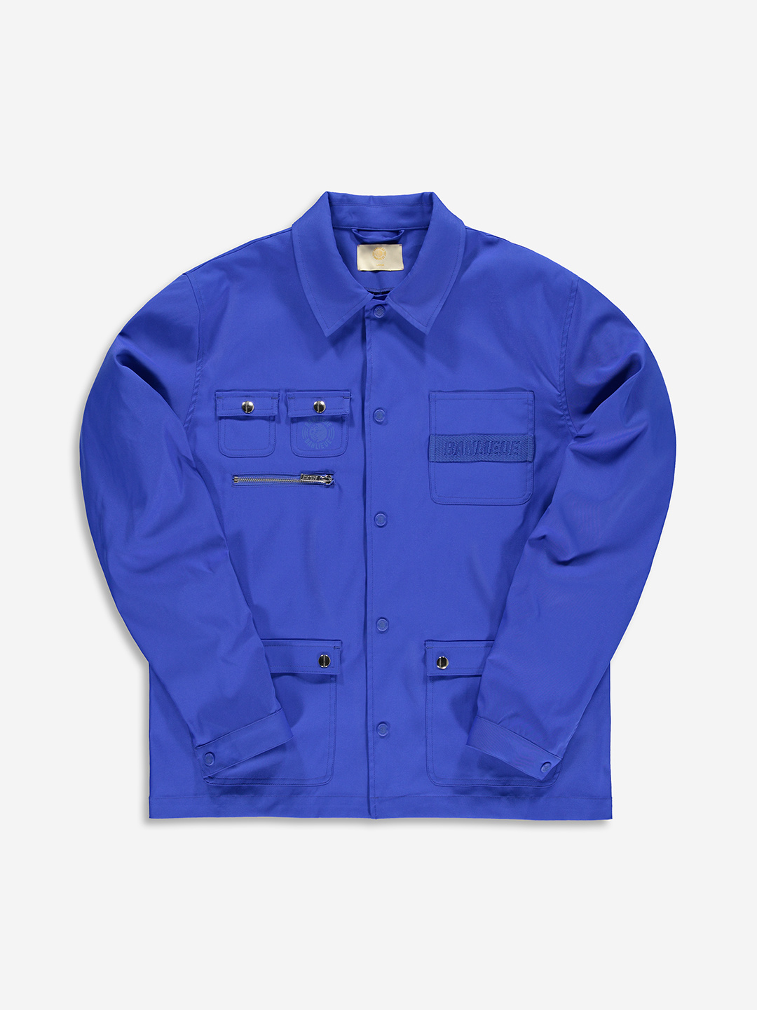 TWILL JACKET ROYAL BLEU