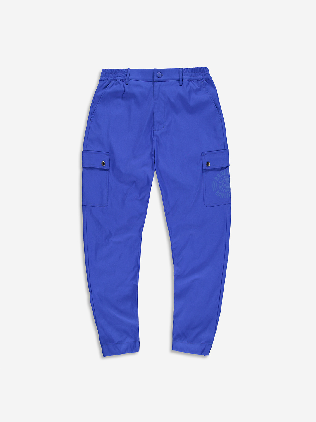 TWILL CARGO PANTS ROYAL BLEU