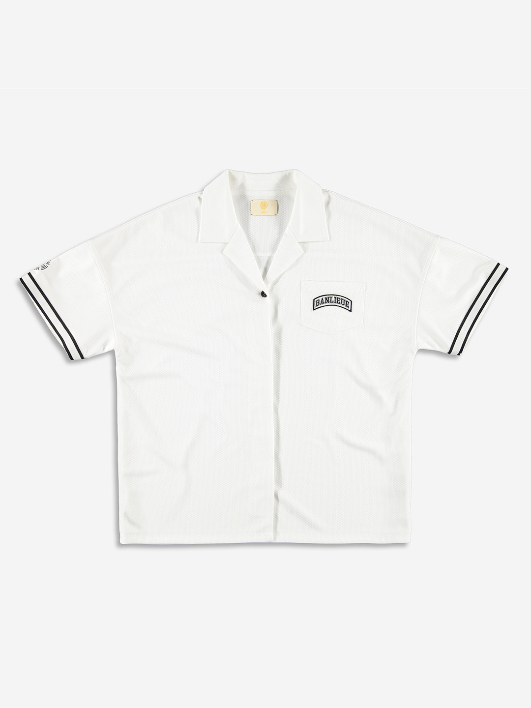BOWLING SHIRT CREAM BLANC