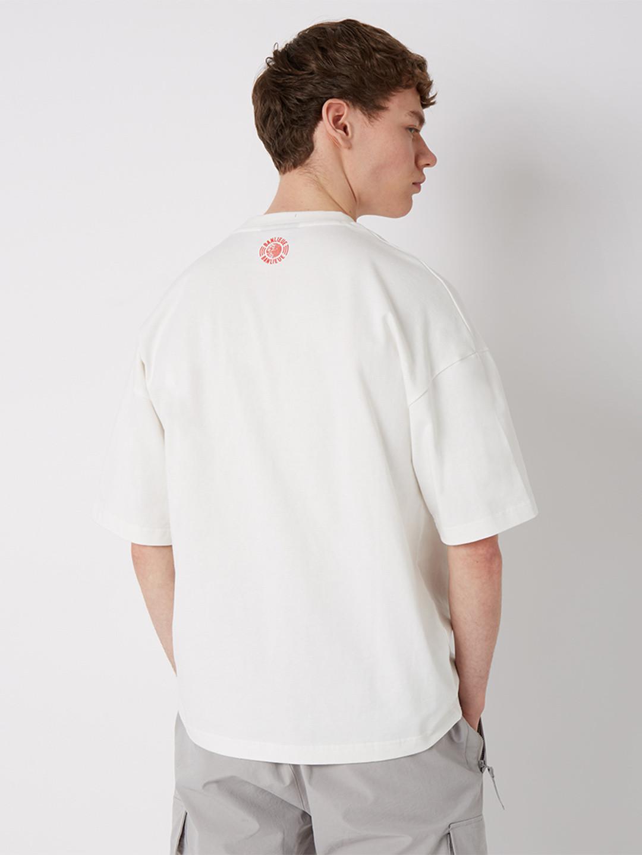 CREST LOGO T-SHIRT WHITE