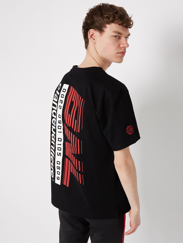 RACING T-SHIRT BLACK/RED
