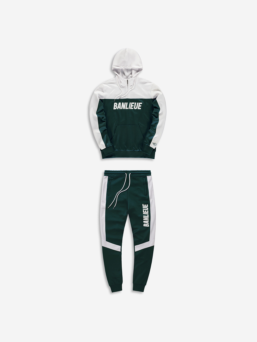 3D TRACKSUIT FOREST/WHITE