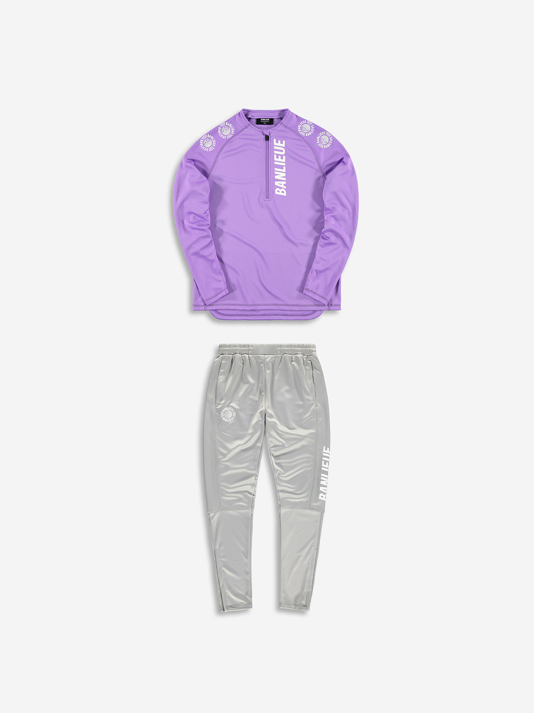 PERFORMANCE TRACKSUIT PURPLE/GREY