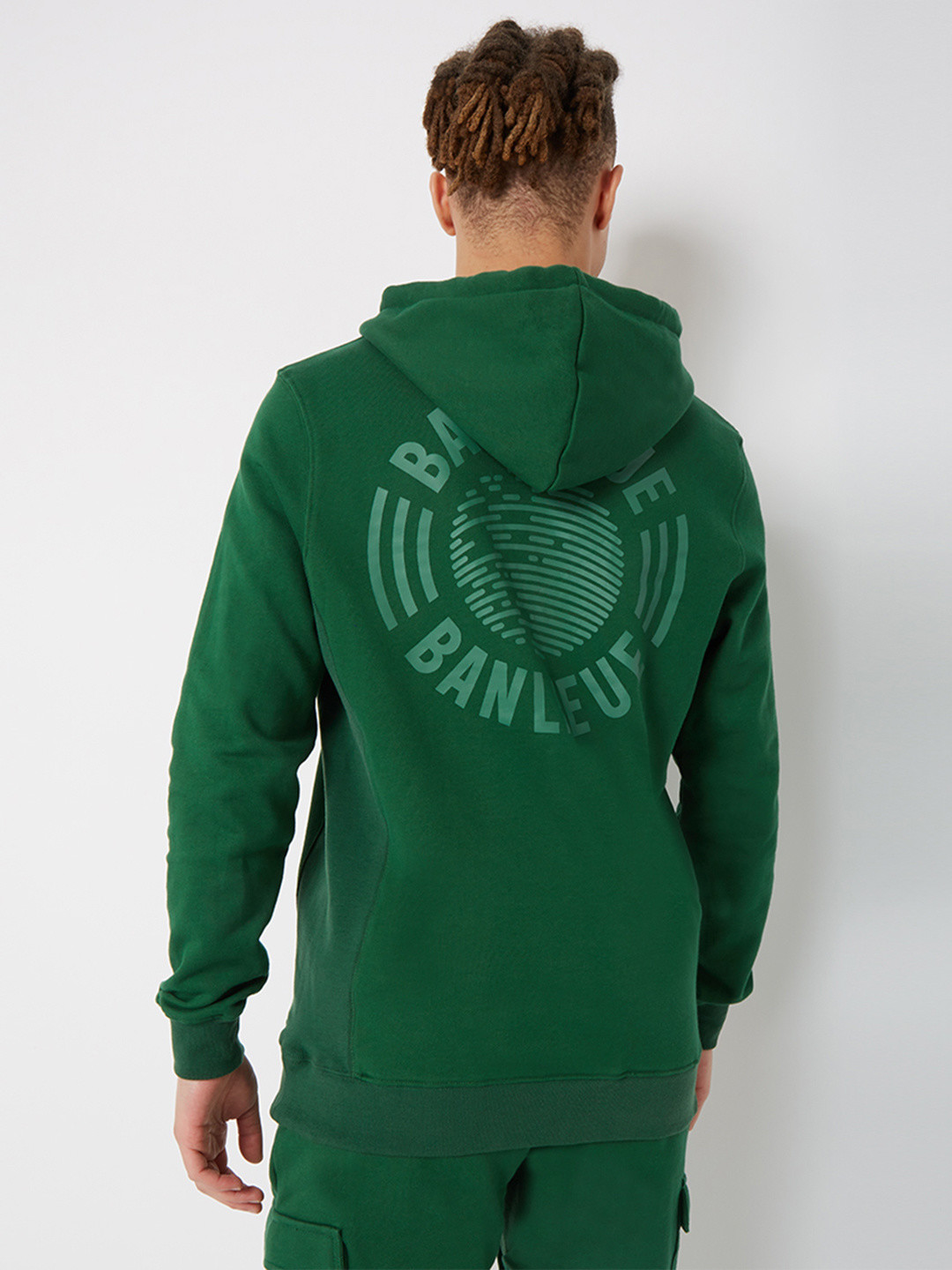 TONAL HOODIE FOREST