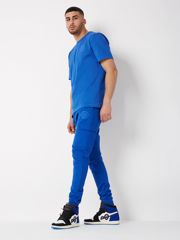 TONAL T-SHIRT ROYAL BLUE