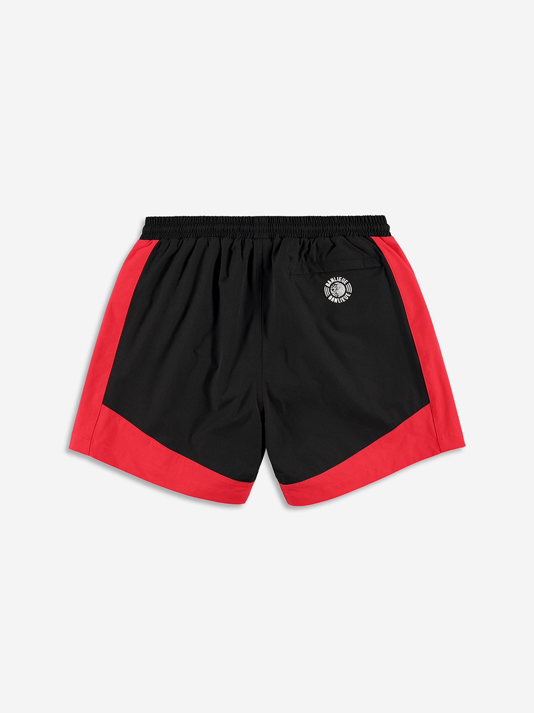 3D SWIMSHORTS ROUGE/NOIR