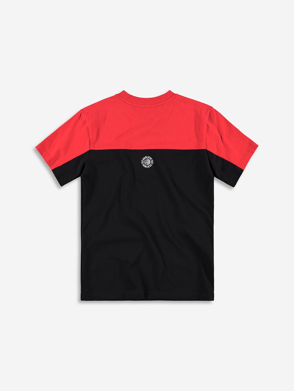 3D T-SHIRT RED/BLACK
