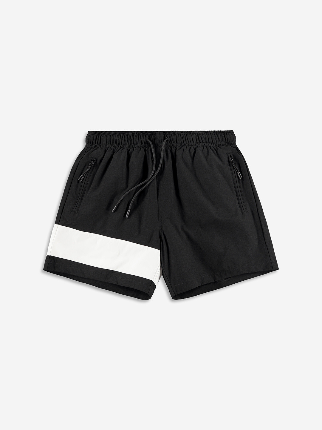 BAND SWIMSHORTS BLACK