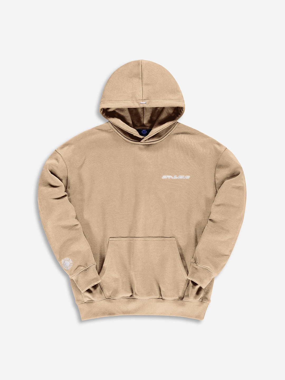 WARMING UP HOODIE MARRON TAUPE