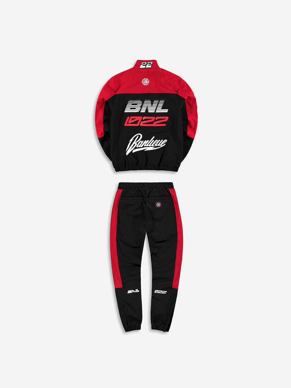 BMX TRACKSUIT BLACK/RED