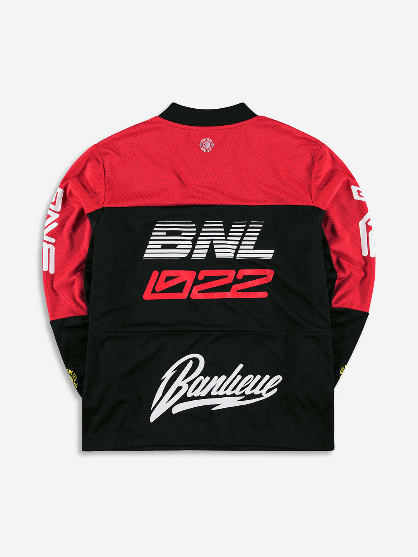 BMX JERSEY BLACK/RED
