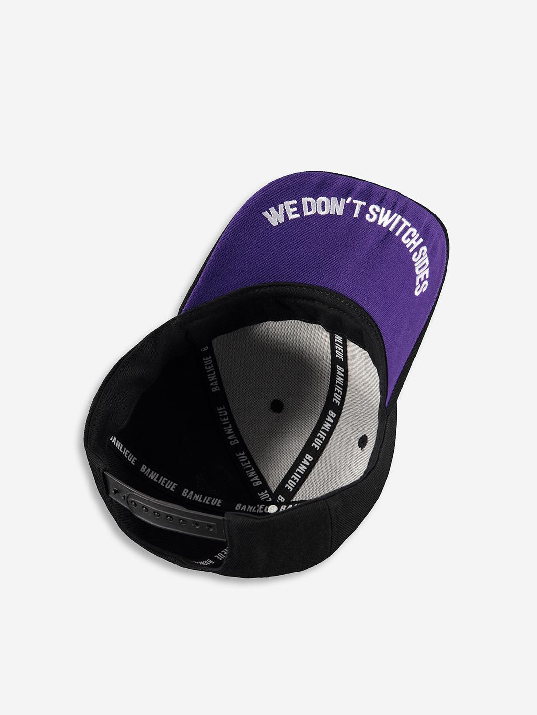 FC BANLIEUE CAP NOIR