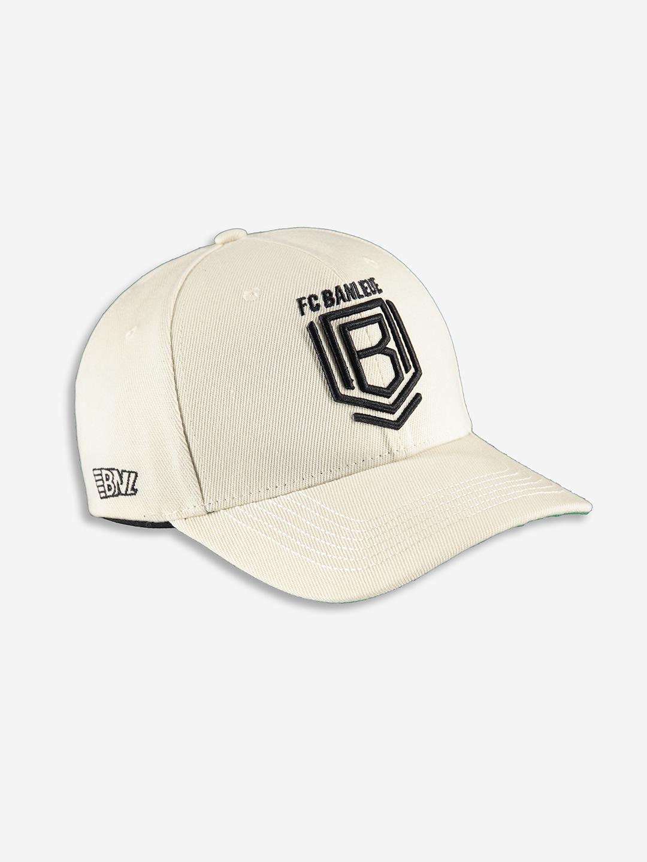 FC BANLIEUE CAP CREAM BLANC