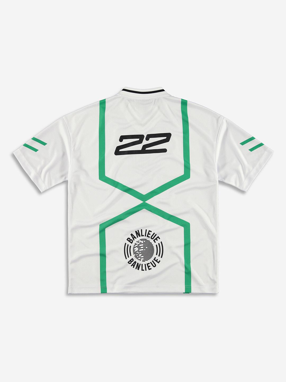 FC BANLIEUE MESH T-SHIRT CREAM WHITE